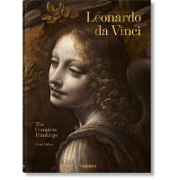 英文原版 达・芬奇作品全集 绘画艺术作品画册画集 Leonardo da Vinci. The Complete Pai