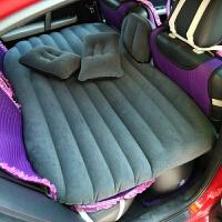 汽车用品 车载充气床垫 车震床垫 汽车植绒充气床 户外旅行气垫床
