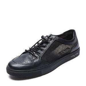 Belle/百丽夏季专柜同款网布/牛皮男休闲鞋4ZV01BM7