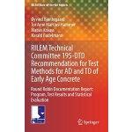 【预订】RILEM Technical Committee 195-DTD Recommendation for Te