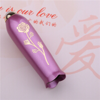 钢笔女士钢笔学生用礼盒装女式练字钢笔珍藏版送香水 紫红 0.38mm
