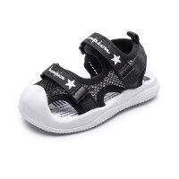宝宝凉鞋男1-3岁婴儿鞋子夏季儿童网面透气0-2女童小童软底学步鞋