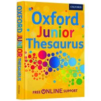 牛津英国小学英语同义词词典精装 英文原版书 Oxford Junior Thesaurus 小学高年级英英词典 英文版