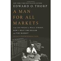 """A Man for All Markets 所向无敌美国""""赌神""""爱德华・索普自传【英文原版 商业人物自传】"""