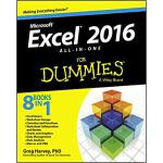 【预订】Excel 2016 All-In-One for Dummies 9781119077152