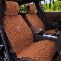 夏季汽车坐垫四季通用手编冰丝座垫套蒙迪欧福克斯速腾朗逸迈腾GS