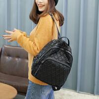 双肩包女韩版时尚软皮大容量妈咪背包女包潮学生书包