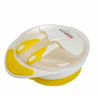 威仑帝尔儿童餐具宝宝勺子套装婴儿防摔训练碗带盖勺辅食碗a123