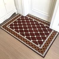 简欧入户门垫进门地垫家用门口地毯门厅脚垫客厅卧室防滑垫定制