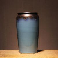 新中式陶瓷花瓶摆件客厅插花大号落地花盆景德镇简约现代北欧家居