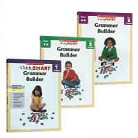 英文原版 Study Smart Grammar Builder 1-3低年级3册学乐聪明学习学生练习册附答案