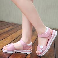 女童凉鞋夏季宝宝公主鞋小女孩软底中大童儿童学生沙滩鞋