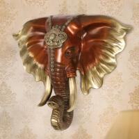 纯铜大象头壁挂件 家居客厅墙面店铺酒吧过道装饰品 装饰摆件 创意家居 *礼品礼物 象头壁挂