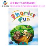 现货香港朗文少儿拼读语音教材Phonics fun4级课本+练习册