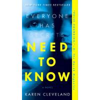 现货 英文原版 需要知道 Need to Know: A Novel 英文版 惊悚小说 Karen Cleveland