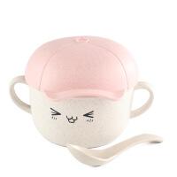 儿童零食盒儿童餐具套装婴幼儿卡通宝宝辅食碗勺隔热防烫汤面碗防摔喂养餐具