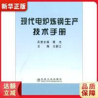 现代电炉炼钢生产技术手册 王新江 9787502447519 冶金工业出版社 新华书店 品质保障