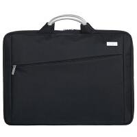 男士公文包手提包14寸笔记本电脑包手提公事包女士