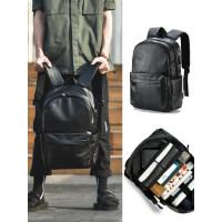 背包男士双肩包时尚潮流大学生书包休闲电脑旅行商务男包潮大容量