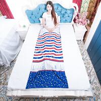 旅行便携卡通隔脏睡袋酒店宾馆床单被罩双人单人薄款轻