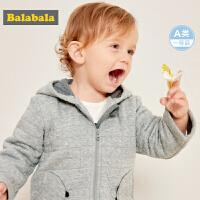 【3件3折价:71.7】巴拉巴拉宝宝棉服男1-2岁婴儿冬装潮新款棉衣保暖时尚男童潮
