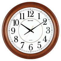 挂钟客厅办公卧室16英寸实木床头静音石英时钟表 56cm CMG982NR06