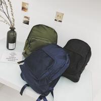 男士书包潮流韩版学生双肩包男初中生街头潮流青年休闲旅行电脑包