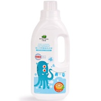 英国小树苗婴儿洗衣液新生儿童宝宝专用衣物清洁橙油1L装