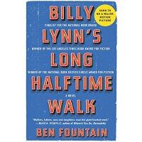 比利・林恩的中场战事 漫长的中场休息英文原版 李安电影Billy Lynn's Long Halftime walk英文