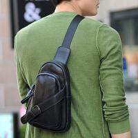 新款男士胸包 时尚韩版休闲腰包斜跨 潮包单肩男款包包斜挎包旅行