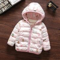 0女宝宝1女童冬装棉衣2婴儿冬季棉袄外套韩版洋气3岁衣服