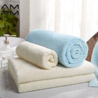 美特斯邦威AMPM阿克苏长绒纯棉浴巾成人婴幼儿加厚超强吸水大毛巾