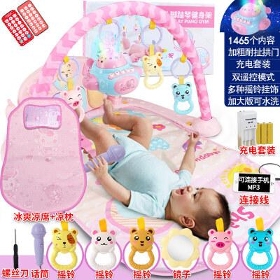 脚踏钢琴婴儿健身架器新生儿宝宝音乐游戏毯玩具0-1岁3-6-12个月 发货周期:一般在付款后2-90天左右发货,具体发货时间请以与客服协商的时间为准