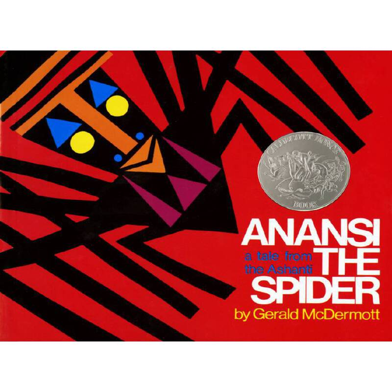 Anansi the Spider: A Tale from the Ashanti 蜘蛛安纳西 1973年凯迪克银奖 ISBN9780805003116