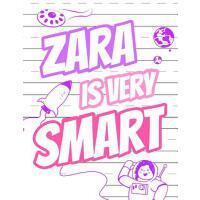 【预订】Zara Is Very Smart: Primary Writing Tablet for Kids Lea
