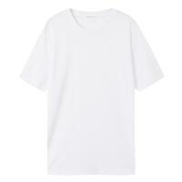 【1件3折价:35.7,可叠券】男时尚百搭多色圆领短袖T恤