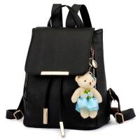 女士包包韩版双肩包学生书包旅行包学院风复古背包电脑包