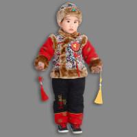 婴儿童装男童秋冬装男宝宝衣服周岁0一1岁2女童套装3潮小孩子男孩