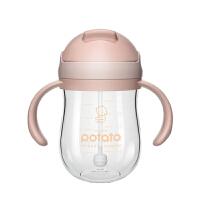 吸管杯儿童水杯宝宝带重力球婴儿学饮杯