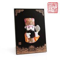 京剧脸谱摆件挂件中国特色礼品送老外北京纪念品中国风出国小礼物