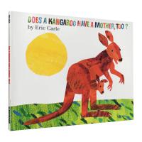 英文原版绘本 袋鼠也有妈妈吗?Does a Kangaroo Have a Mother Too 廖彩杏书单 Eric