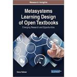 【预订】Metasystems Learning Design of Open Textbooks: Emerging