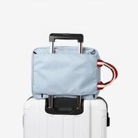 旅游斜挎包拉杆包旅游收纳袋手提包衣物行李整理袋时尚男士单肩包
