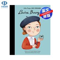 英文原版 小女孩,大梦想:路易丝・布尔乔亚 名人传记 Louise Bourgeois Little People, B
