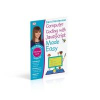 DK系列练习册儿童英语编程语言英文原版Computer Coding with JavaScript Made Easy