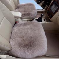 冬季汽车坐垫无靠背纯羊毛坐垫皮毛一体小三件套座垫长毛单垫方垫 全车三件套 请亲留言颜色