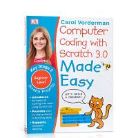 儿童英语编程语言入门 DK系列Computer Coding with Scratch 3.0 Made Easy Ke