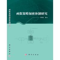 函数策略加密体制研究 9787030632678 科学出版社