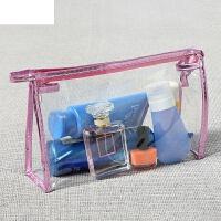 防水韩国手包式洗漱手提收纳包透明化妆包小号便携简约大容量旅行