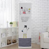 简约格力空调罩柜机立式柜式全包现代布艺防尘罩2P大3P美的海尔